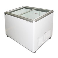 Excellence EURO-8 Ice Cream Flat Top Flat Lid Display Freezer - 7.5 Cu.ft
