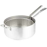 Vollrath 68227 Wear Ever 9 Qt. Heavy Duty Aluminum Fryer Pot with Basket