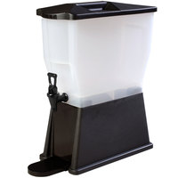Carlisle 1085603 Black TrimLine 3 Gallon Economy Beverage Dispenser