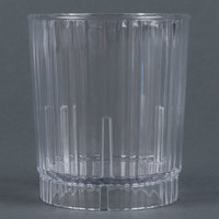 Carlisle 4363707 Clear Lafayette Plastic Old Fashioned Tumbler 12 oz. - 36 / Case