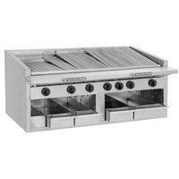 Bakers Pride C-72R Natural Gas 72 inch Radiant Charbroiler - 306,000 BTU