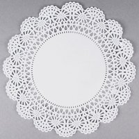 Hoffmaster 500238 10 inch Lace Doily - 1000/Case
