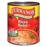 Furmano's Pizza Sauce 6 - #10 Cans / Case