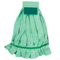 24 oz. Green Microfiber Strip Mop Head