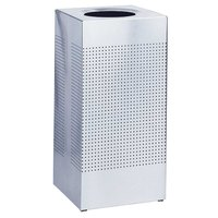 Rubbermaid SC10 Silhouettes Stainless Steel Designer Waste Receptacle - 10 Gallon (FGSC10SSPL)