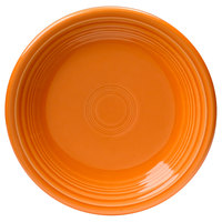 Homer Laughlin 464325 Fiesta Tangerine 7 1/4 inch Salad Plate - 12 / Case