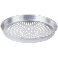 American Metalcraft A90131.5SP 13 inch x 1 1/2 inch Super Perforated Standard Weight Aluminum Tapered / Nesting Pizza Pan
