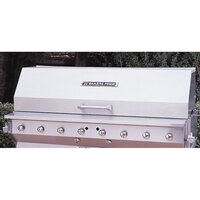 Bakers Pride 21844530-30S 30 inch Ultimate Outdoor Charbroiler Stainless Steel Smoke and Roast Roll Top Hood