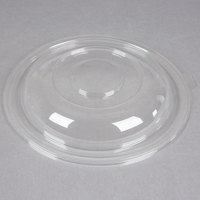 Fineline Super Bowl 5320-L Clear Plastic Dome Lid for 320 oz. Bowls - 25/Case