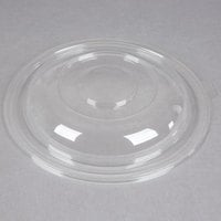 Fineline Super Bowl 5320-L Clear Plastic Dome Lid for 320 oz. Bowls - 25 / Case