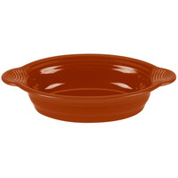 Homer Laughlin 815334 Fiesta Paprika 24 oz. Large Oval Baker - 3 / Case