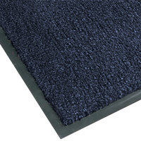 Teknor Apex NoTrax T37 Atlantic Olefin 4468-126 4' x 8' Slate Blue Carpet Entrance Floor Mat - 3/8 inch Thick
