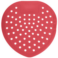 Lavex Janitorial Urinal Screen, Strawberry Scent Deodorized 12 / Pack