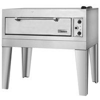 Garland E2011 55 1/2 inch Double Deck Electric Pizza Oven - 240V, 1 Phase, 12.4 kW
