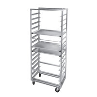 Channel 414A-OR Side Load Aluminum Bun Pan Oven Rack - 10 Pan
