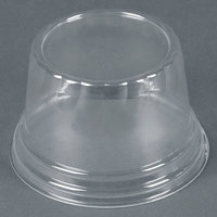 WNA Comet LHCDPET 5, 8, 12 oz. Clear Plastic Dome Lid for Classic Sundae Cups 50 / Pack
