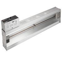 Vollrath 72717017 Cayenne 48 inch Strip Warmer with Remote Infinite Control - 1100W