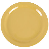 Carlisle 4385222 Honey Yellow Dayton 9 inch Melamine Plate - 48/Case