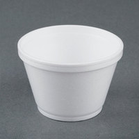 Dart Solo 6SJ12 6 oz. White Foam Food Bowl - 50/Pack