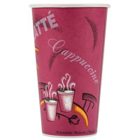 Dart Solo 420SI-0041 Bistro 20 oz. Poly Paper Hot Cup - 600/Case