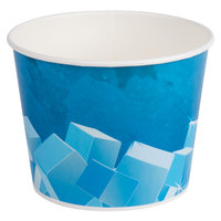 Lavex Lodging 10 lb. Disposable Paper Ice Bucket - 150 / Case