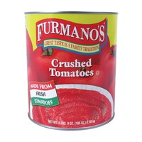 Furmano's Crushed Tomatoes 6 - #10 Cans / Case