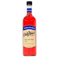 DaVinci Gourmet 750 mL Watermelon Sugar Free Coffee Flavoring / Fruit Syrup