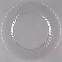 WNA Comet CW9180C Classicware 9 inch Clear Plastic Plate - 180 / Case