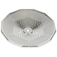 Tellier X3015 1/16 inch Perforated Replacement Sieve for Food Mill #3 - Stainless Steel