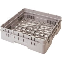 Cambro BR414184 Beige Camrack Full Size Open Base Rack with 1 Extender