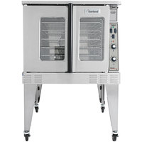Garland MCO-ED-10-S Single Deck Deep Depth Full Size Electric Convection Oven - 240V, 3 Phase, 10.4 kW