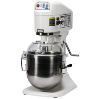 Globe SP8 Gear Driven 8 Qt. Commercial Countertop Mixer - 115V, 1/4 hp