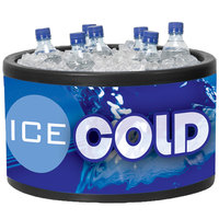 Black Icer 400 20 Qt. Round Countertop Merchandiser