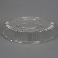 WNA Comet A18PETDM Checkmate 18 inch Clear Dome Lid for Round Catering Trays - 5/Pack