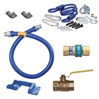 Dormont 16100KIT36PS Deluxe SnapFast® 36 inch Gas Connector Kit with Safety-Set® - 1 inch Diameter