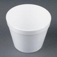 Dart Solo 24MJ48 24 oz. White Foam Bowl - 25/Pack