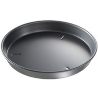 Chicago Metallic 91130 13 inch x 1 1/2 inch Deep Dish Hard Coat Anodized Aluminum Pizza Pan