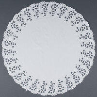Hoffmaster 500259 14 1/2 inch Lace Doily - 1000 / Case