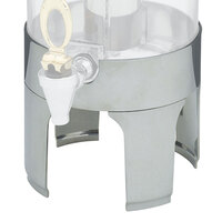 Vollrath 46271 Replacement Stainless Steel Base for New York, New York 2 Gallon Cold Beverage Dispensers