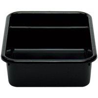 Cambro 1621CBP110 Cambox 20 inch x 15 inch x 5 inch Black Polyethylene Plastic Bus Box
