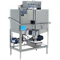 CMA Dishmachines CB-2L Double Rack Low Temperature, Left Door Configuration, Chemical Sanitizing Corner Dishwasher - 115V