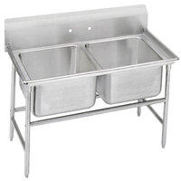 Advance Tabco 94-62-36 Spec Line Two Compartment Pot Sink - 48 inch