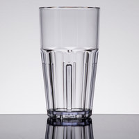 GET 9916-1-CL Bahama 16 oz. Clear Break-Resistant Plastic Tumbler - 72/Case