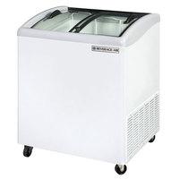 Beverage Air NC28-1-W Curved Lid Display Freezer / Novelty Case - 4.7 cu. ft.