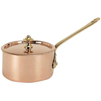 De Buyer 6453.09 0.3 Qt. Small Copper Sauce Pan