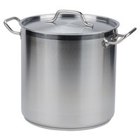 Vollrath 3506 Optio 27 qt. Stock Pot with Cover
