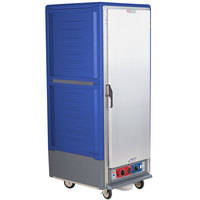 Metro C539-CFS-U-BU C5 3 Series Heated Holding and Proofing Cabinet with Solid Door - Blue