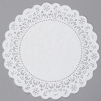 10 inch Lace Normandy Grease Proof Doilies   - 500/Case