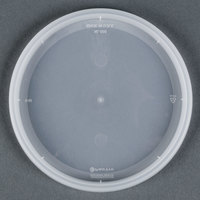 Newspring YNL500 4 9/16 inch DELItainer Translucent Round Deli Container Lid - 480 / Case