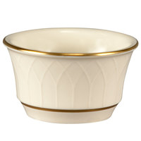Homer Laughlin 1420-0146 Westminster Gothic Off White 3.5 oz. Ramekin - 36/Case